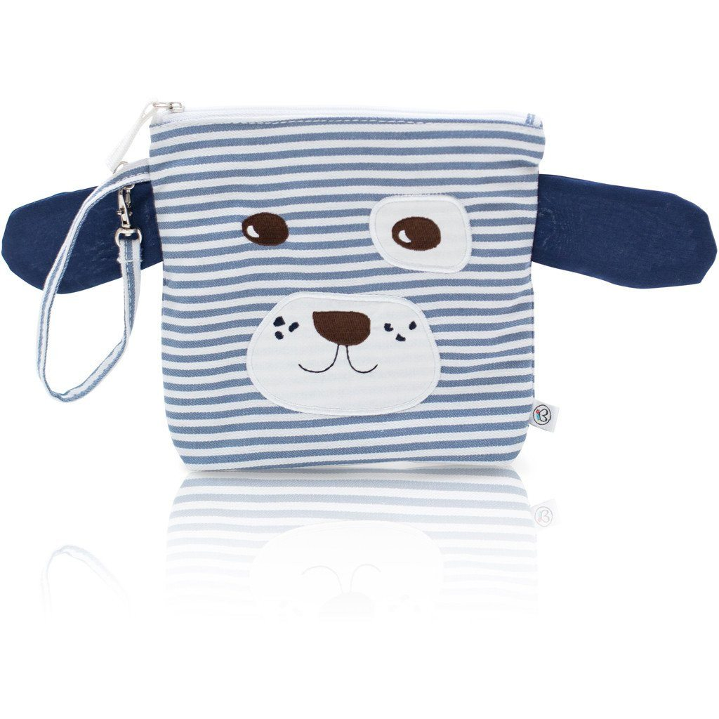 Snack Bag - My First Buddy Snack Bag - Blue Puppy