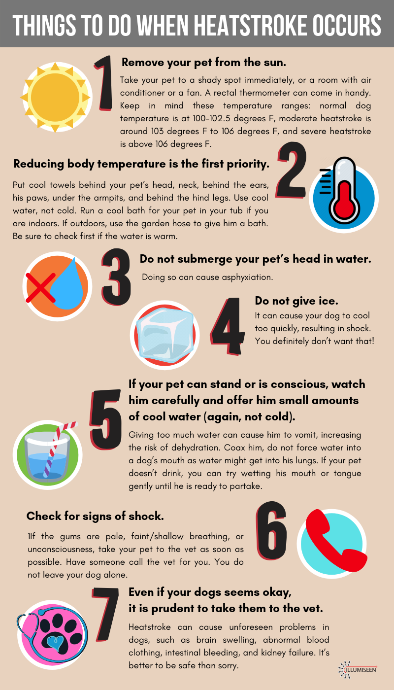 What to do when heatstroke occurs