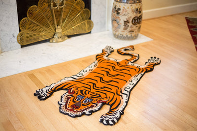 Carpets Default Medium Tibetan Tiger Rug cr015