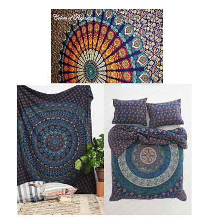 Black Friday/Cyber Monday Boho Bundle #4 - Extra 10% off 3 items (Mystic Blue) - Free Shipping