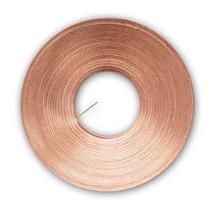 100 Ft Roll Copper Restrip Reinforcement for Stained Glass