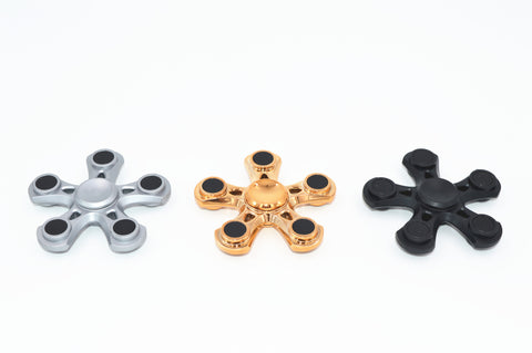 Superior Metallic Fidget Spinner For Anxiety and Stress Reliever Anti Stress Toy