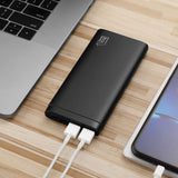 LAX Pro 12000mAh Power Bank with 2 High Speed USB Ports