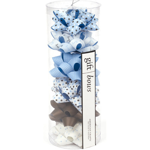 Blue Gift Bows from American Crafts - Gemgem