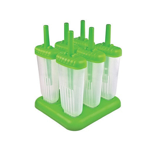 [Tovolo] Ice pop molds - Green - Gemgem  - 1
