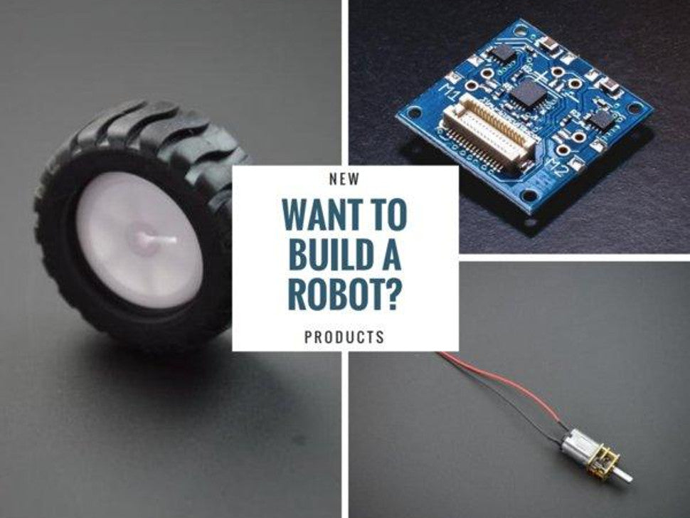 Build Your Own Robot -- New Products