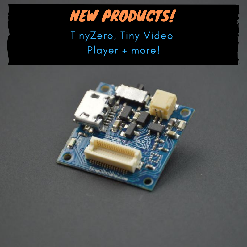 TinyZero Processor, new products + kits!