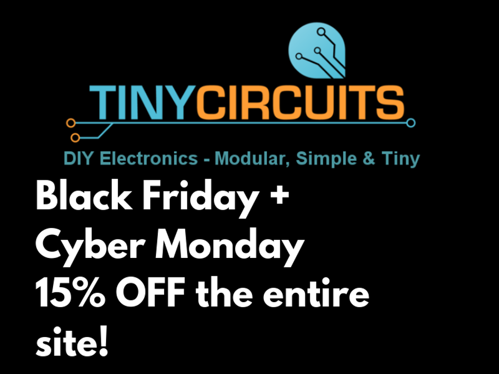 Black Friday / Cyber Monday Sale!