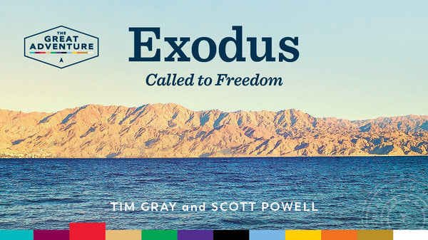 The logo for the Bible Study, Exodus: Called to Freedom, by Tim Gray and Scott Powell