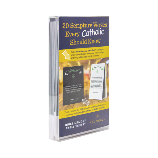 Bible Memory Table Tents for Everyone