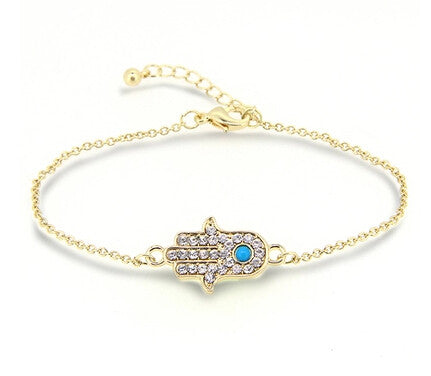 Hamsa Hand Bracelet - Sacred Motivation