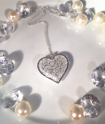 Fufill Your Heart Necklace - Sacred Motivation - 1