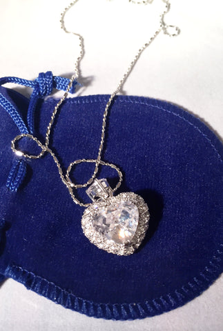 Have a Big Heart Crystal Necklace - Sacred Motivation - 1