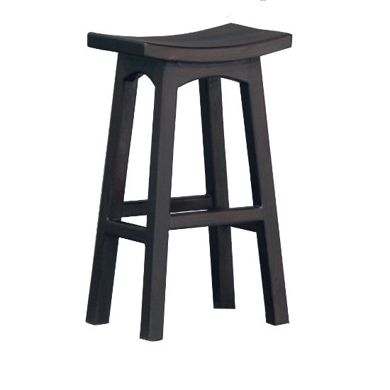 Classic Bar Stool (Chocolate)
