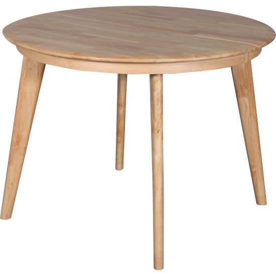 Belmont Butterfly Extension Round Dining Table Natural