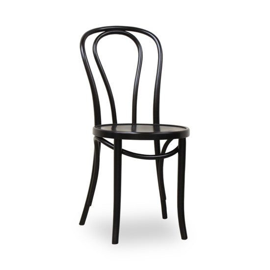 Bohemio Furniture Online Store - Bentwood Dining Chair (Black)