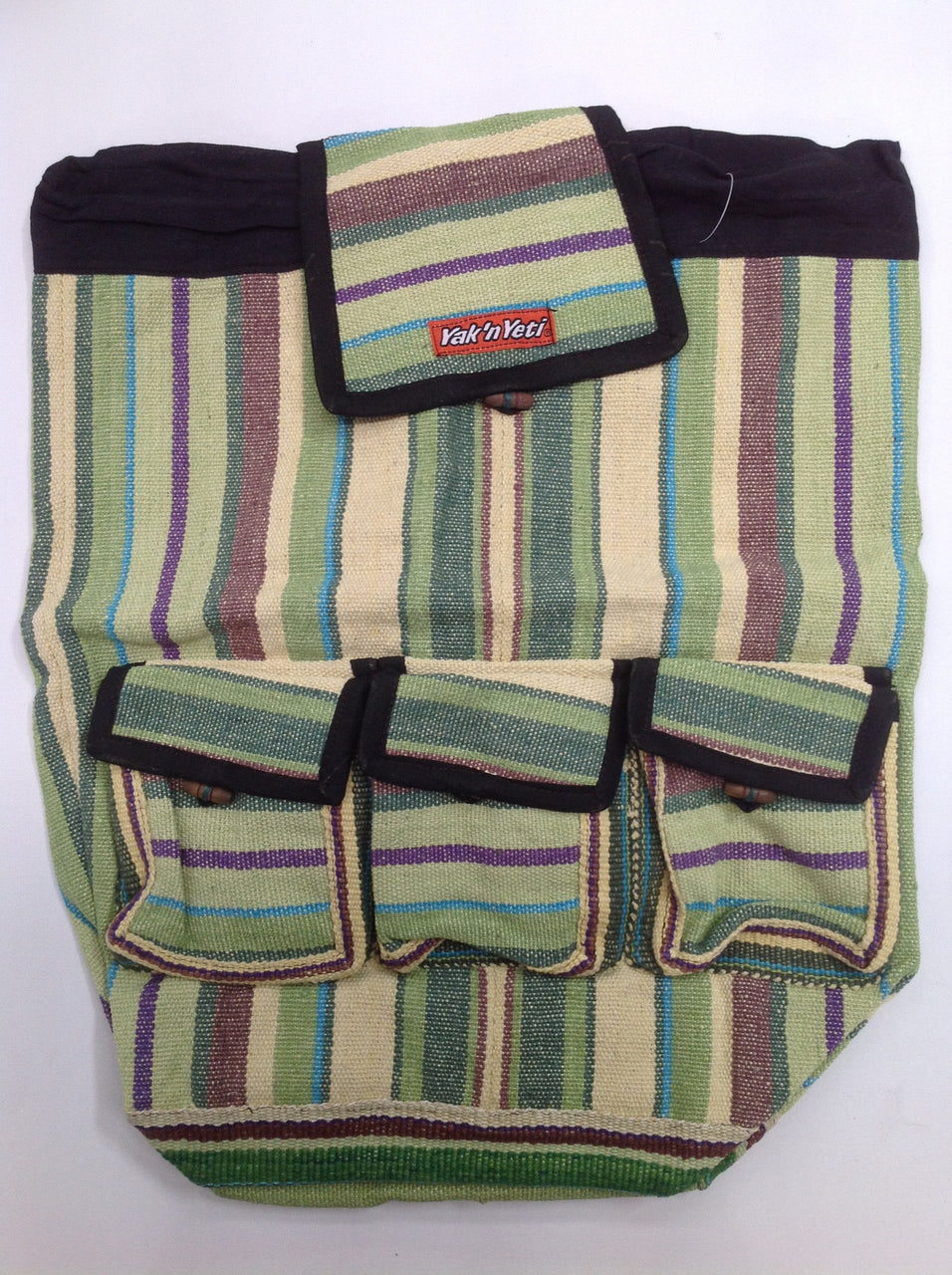 Cotton Backpack (Green)