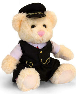 Kate the station mistress plush railway bear