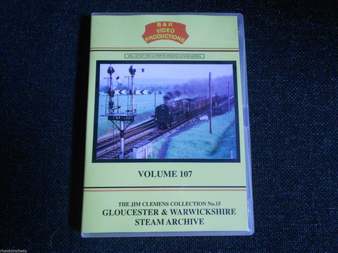 Cheltenham, Stratford, Gloucester & Warwickshire Steam Archive B&R Vol 107 DVD - The Vale of Rheidol Railway