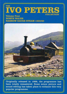 IVO peters North Wales narrow gauge steam 1959-60 DVD