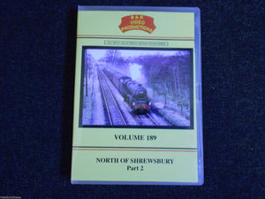 Ifton Colliery, Gresford Bank, North of Shrewsbury Part 2, B & R Volume 189 DVD