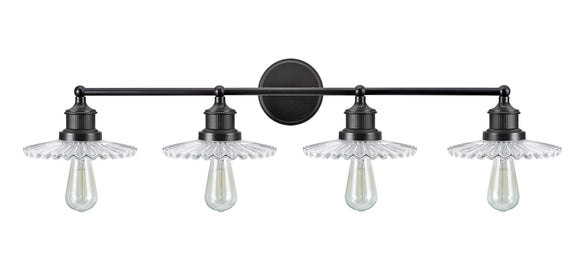 # 62108 4 Light Metal Bathroom Vanity Wall Light Fixture, 38