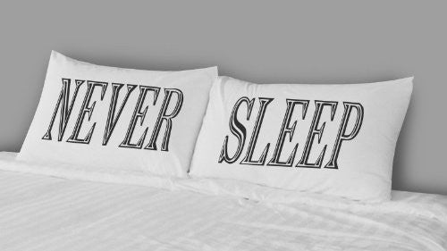 Rise and Fall RFB1293 Never Sleep Pillow Case Set - Cool Hot Fashions