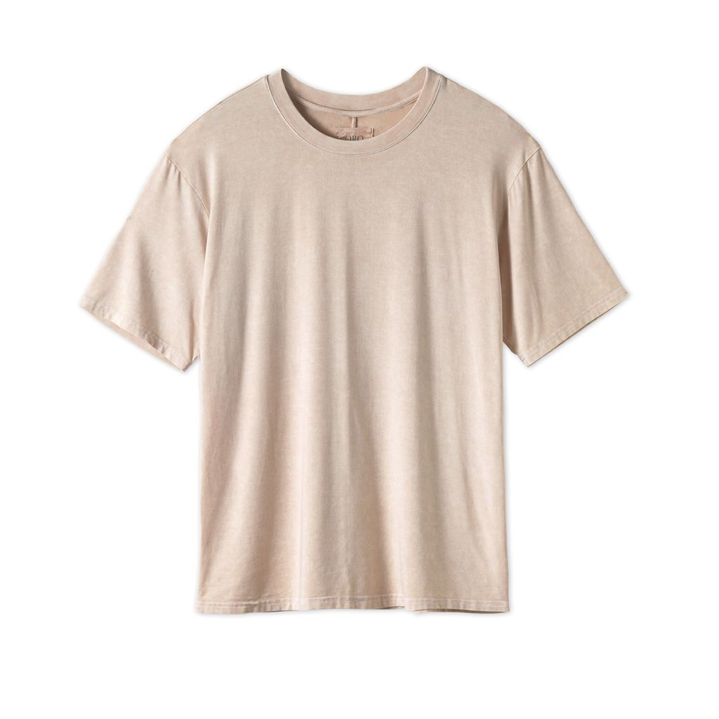 THE CLASSIC IMPERIAL TEE - WASHED BEIGE