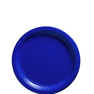 "Plate 7"" Bright Royal Blue"