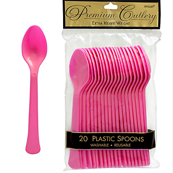 Spoon 20ct Bright Pink