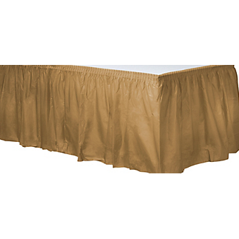 Tableskirt Gold