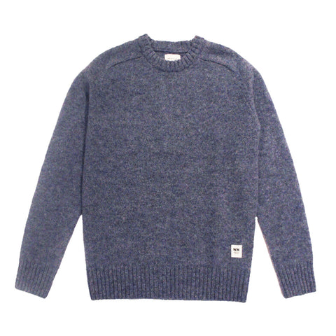 Kevin Knit Blue |  Wood Wood - & BLANC