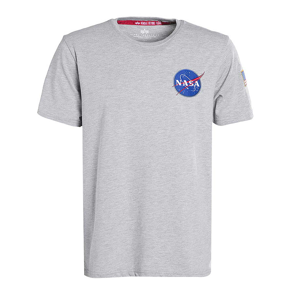 Space Shuttle Tee (Gray Heather) | Alpha Industries - & BLANC