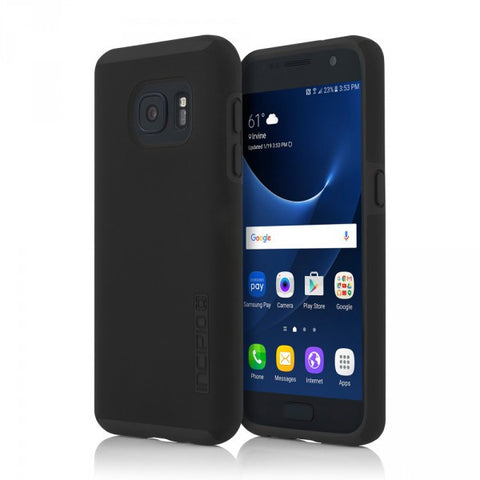 Black/Black Incipio® DualPro™ Hard Shell Case for Samsung Galaxy S7