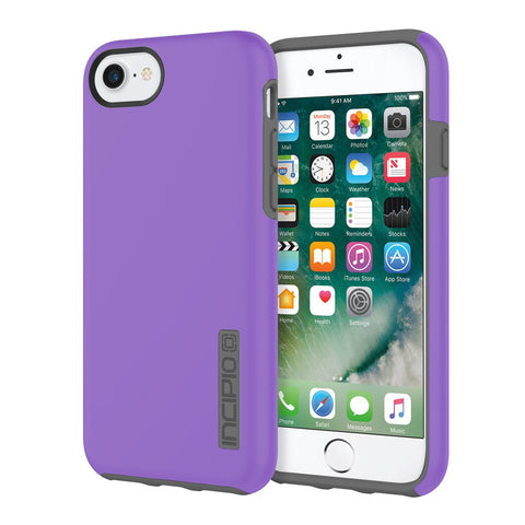 Purple/Gray Incipio® DualPro™ Hard Shell Case for iPhone 7/6s/6