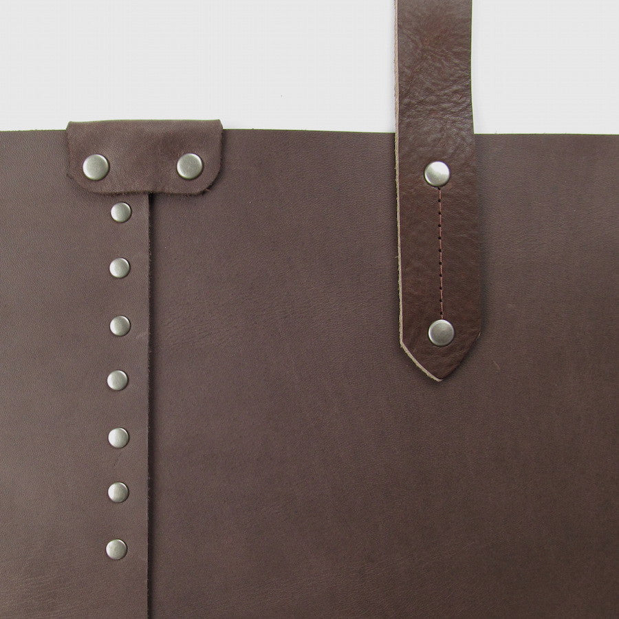 Custom Leather Purse Brown