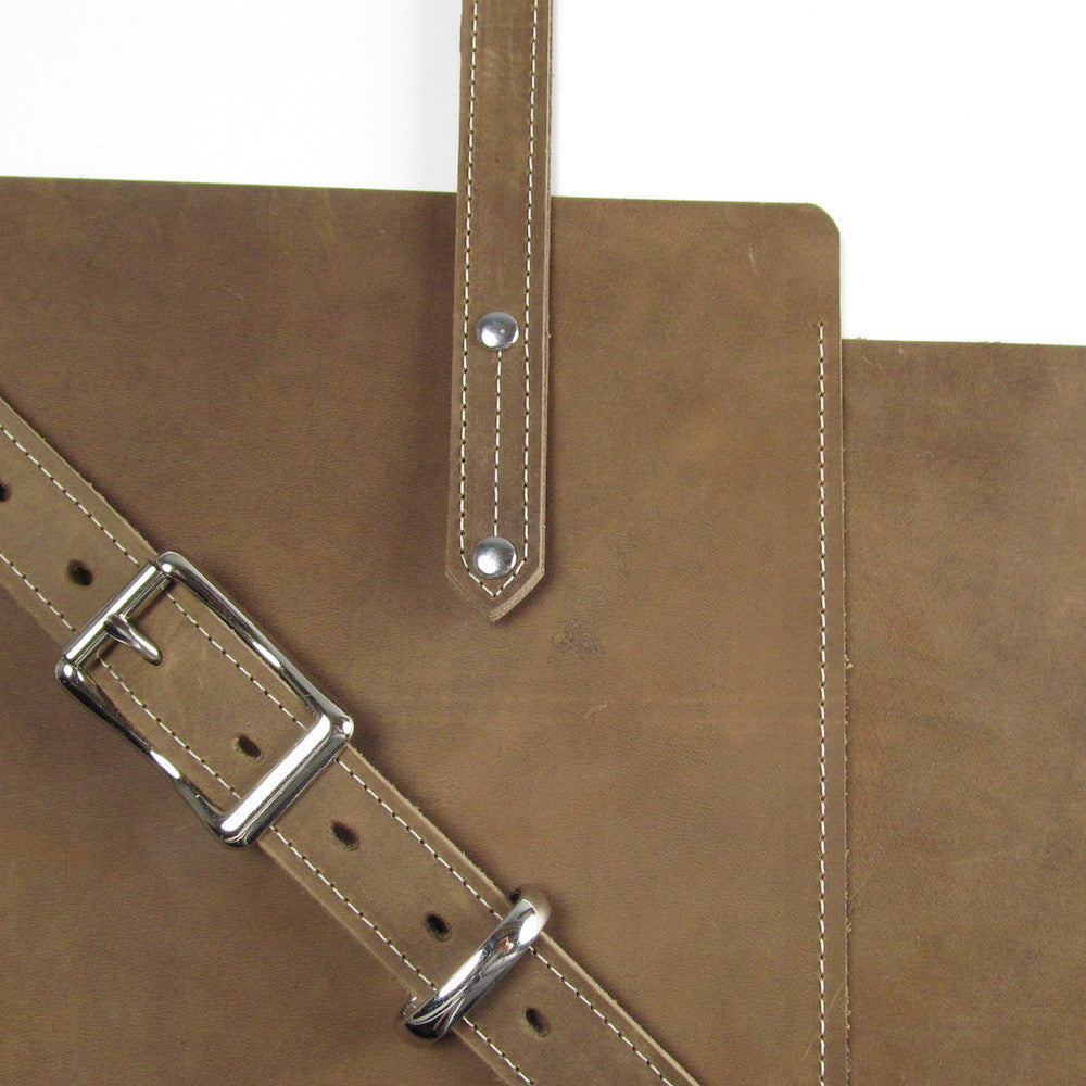 Zip Work Bag - Dusty