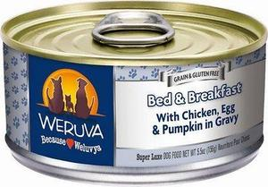 Weruva Bed & Breakfast with Chicken, Egg, & Pumpkin in Gravy Grain-Free Canned Dog Food 5.5oz