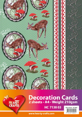 3D Decoration Card Kit 5- by Hearty Crafts