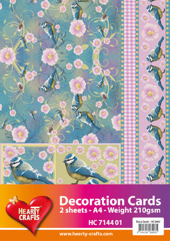 3D Decoration Card Kit 1- by Hearty Crafts