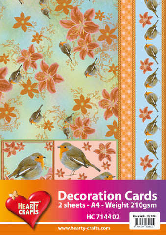 3D Decoration Card Kit 2 - by Hearty Crafts