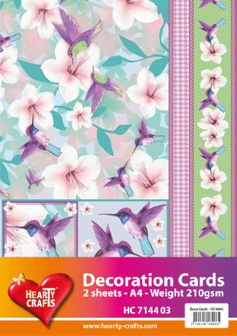 3D Decoration Card Kit 3 - by Hearty Crafts