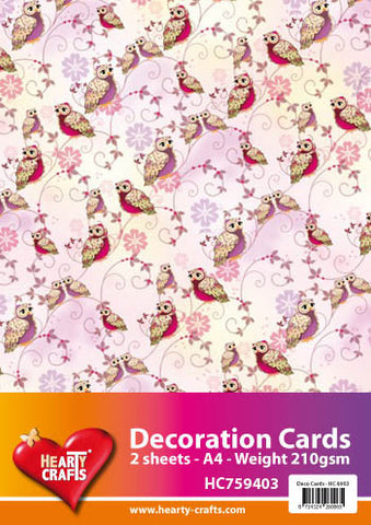 3D Decoration Card Kit 9- by Hearty Crafts