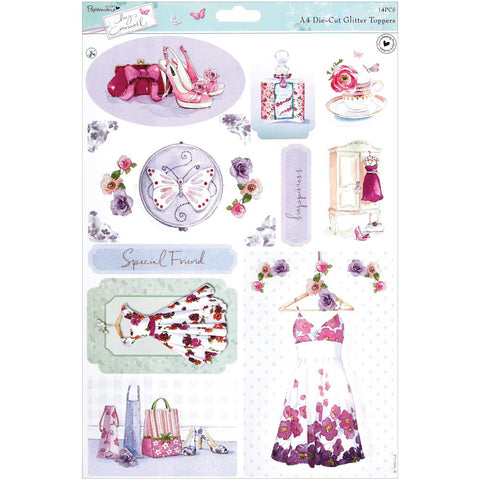 Lucy Cromwell Collection - Die-Cut Glitter Topper - Dresses
