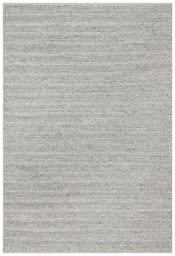 Simple Style Co: Mandurah Rug - Silver | Free Delivery | Shop Rugs