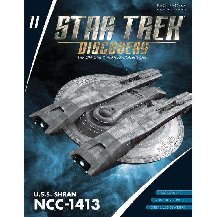 Star Trek: Discovery Collection #11 USS Shiran NCC-1413 - JULY 2019