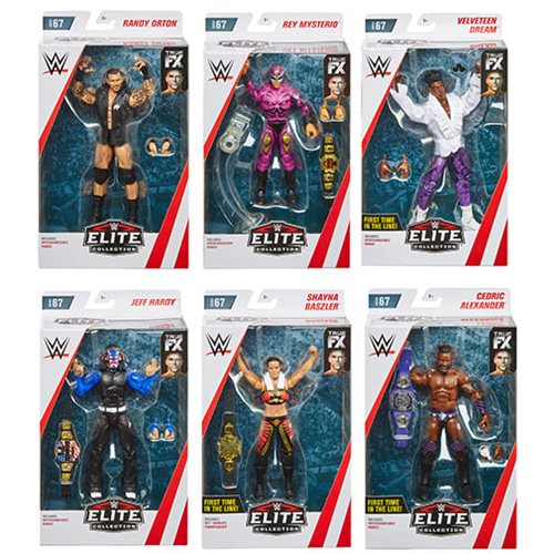 WWE Wrestling Elite Collection Series 67 - Set of 6