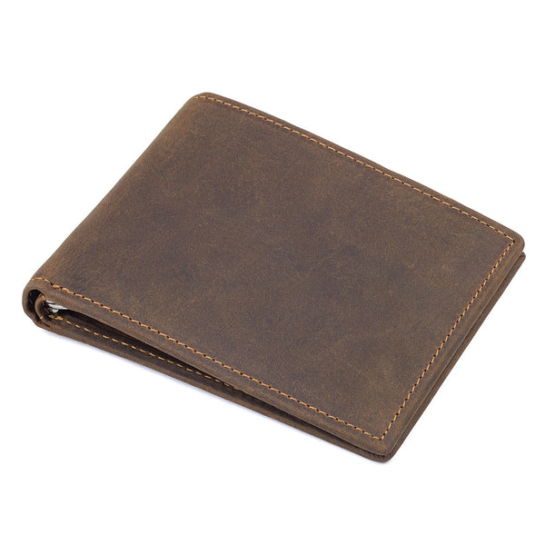 Mens Leather Wallets Wallethub, Cool Wallets For Men, Magic Wallet, Front Pocket Wallet  8166