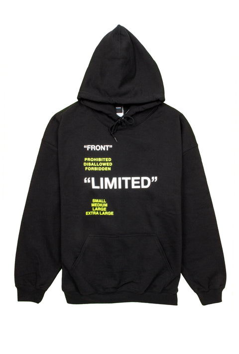 Limited Black Sweatshirt