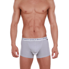 David Archy Men's 4 Pack Micro Modal Separate Pouch Trunks